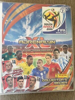 Panini Adrenalyn XL FIFA World Cup South Africa 2010 Binder 288 Different Cards