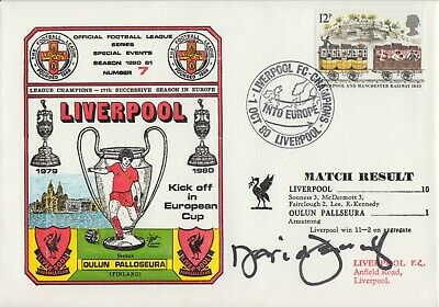 David Fairclough Hand Signed First Day Cover - Liverpool Autograph 1.