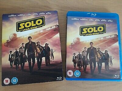 Solo: A Star Wars Story - BLU-RAY (2018), 2 Disc Set, complete with Slip Cover