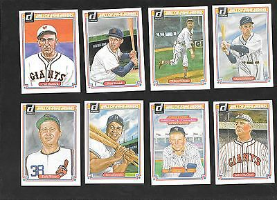 1983 donruss hof heroes 17 different Mantle, Cobb, Campy and 14 others