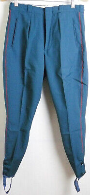 Parade Vintage Soviet Army Officer Daily Uniform Pants Galife Trousers USSR