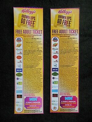 Free Adult Ticket x 2; London Dungeon, Alton Towers, Legoland, Tussauds, Sealife