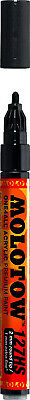 (Paint Marker - 2mm, Signal Black) - Molotow One4All Acrylic Paint Markers 2