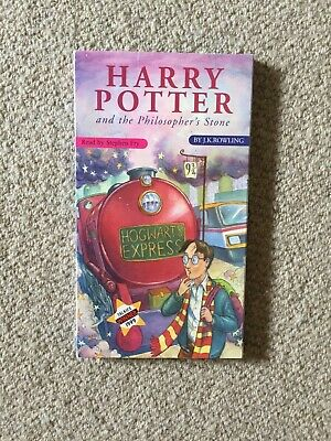 Harry Potter and the Philosopher's Stone  Audio Book on 7 CD's Complete and unab