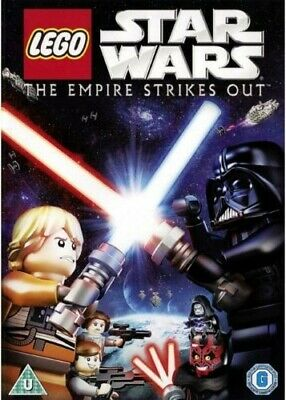 LEGO Star Wars: The Empire Strikes Out DVD darth maul vader chewbacca c3po