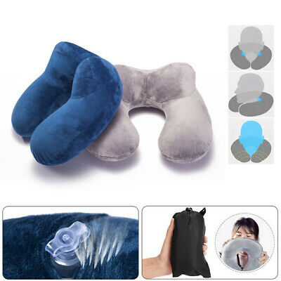 Travel  Pillow Neck Inflatable travel Pillow With Case Air Travel Pillow U-Shape