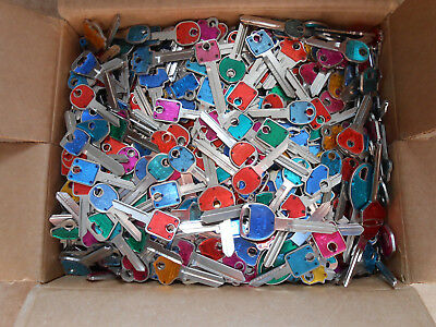 30 Lbs  Colors KEY BLANKS    Locksmith, Decoration, Art, Craft, Wind chimes ..