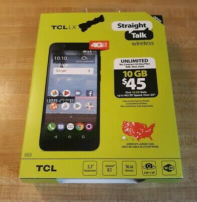 STRAIGHT TALK ALCATEL TCL LX / TracFone Alcatel TCL LX Brushed Cover