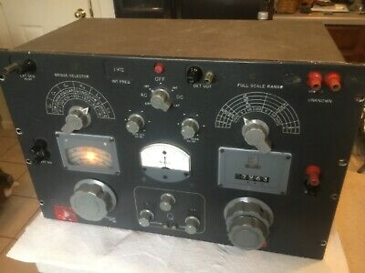 General Radio Company Impedance Bridge Model 1608-A