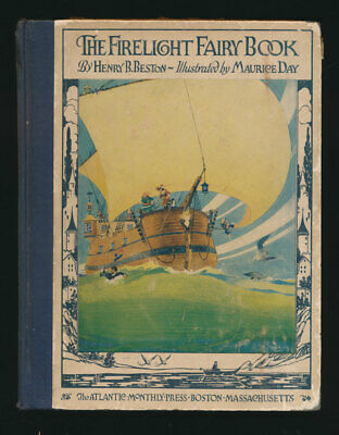 Firelight Fairy Book Color Illustrations 100 Year Old First Edition Truly Scarce