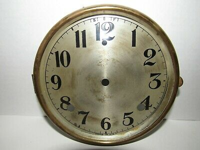 Antique Gilbert Chime Mantel Clock Dial