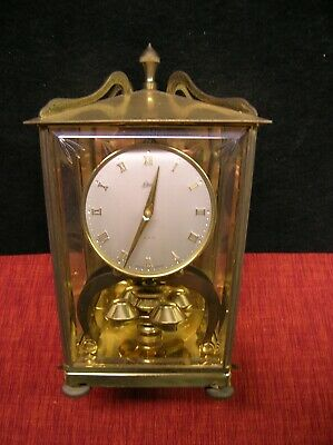 Vintage Schatz 400 Day Carriage Anniversary Mantle Clock-Made in Germany-no key