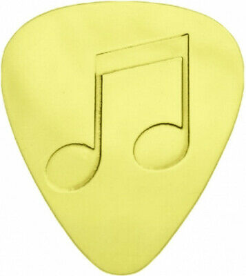 Music Note - Solid Brass Guitar Pick. Coleman Custom Picks. Best Price