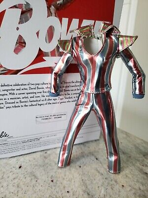 Barbie doll David Bowie Barbie 2019 fashion only see damages of the scratches