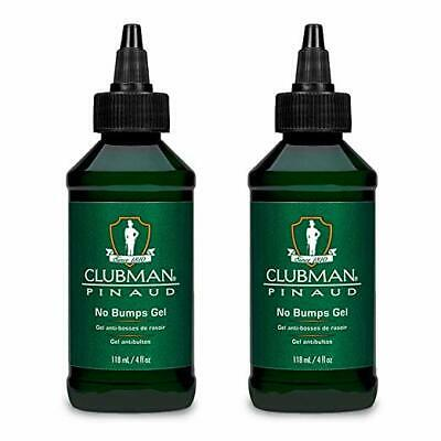 Clubman Pinaud No Bumps Gel, 4 Oz (Pack of 2) Pack 2
