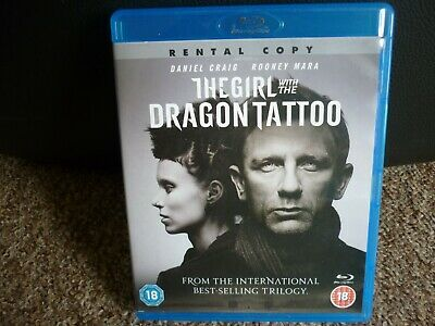 The Girl With The Dragon Tattoo, Blu Ray,