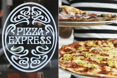 Pizza express vouchers 4 x main course