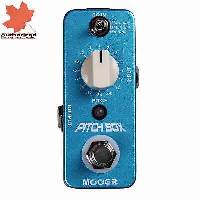 Mooer Pitch Box Micro Guitar Effects Pedal Pitchbox New
