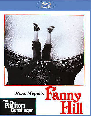 FANNY HILL/THE PHANTOM GUNSLINGER NEW BLU-RAY/DVD Vinegar syndrome NEW