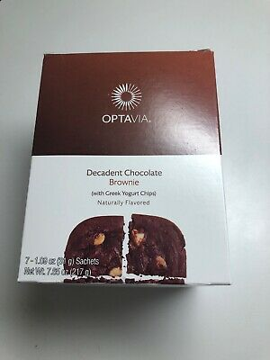 Optavia Medifast Decadent Chocolate Brownie  -   7 Meals - Exp 05/10/2020