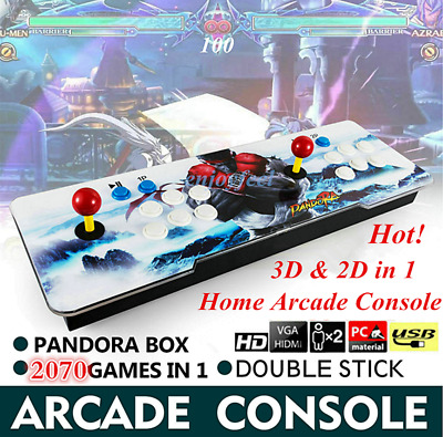 HOT! Pandora Box 9S 2070 3D & 2D Games in 1 Home Arcade Console 1080P HD In USA