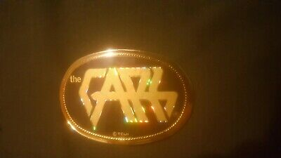 L.a.cal.90245*Vintage 1978 Pacifica ***The Cars***Rock Music Belt Buckle*Rare!