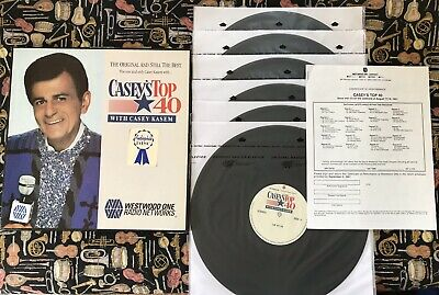 CASEY'S AMERICAN TOP 40 6 LP Box Set NM Vinyl Week Of 8/17