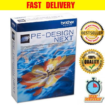 Brother PE Design Next Embroidery Full Software PLUS ACTIVATOR & FAST DELIVERY