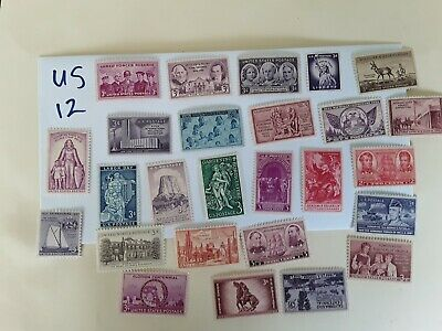stamps United States - 26  Mint  unHinged old  (12B)