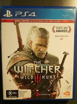 THE WITCHER 3 WILD HUNT (PS4): Bonus Content: Detailed World Map
