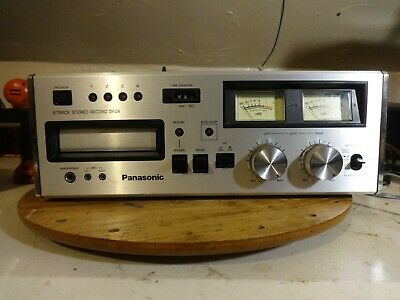 Panasonic 8-Track Player/Recorder Rs-808 Serviced