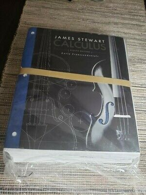 Calculus Early Transcendentals James Stewart Loose-Leaf, 8th Edition1305272358