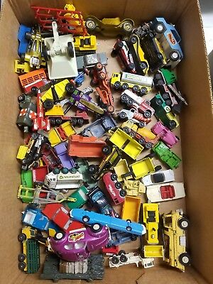 Matchbox and misc. other cars junk drawer lot #1