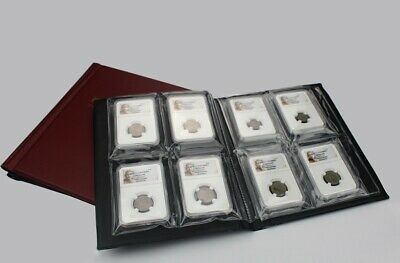 New Coin Album Holders Book Hold 16 Certified Coin Slabs PCGS NGC Coins