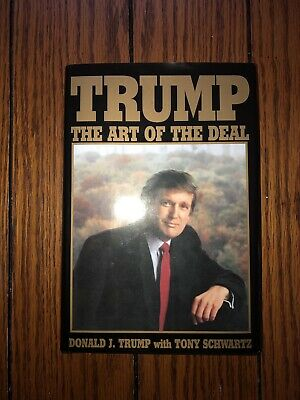 President Donald J. Trump Signed Official 2016 Election Edition Art of the Deal