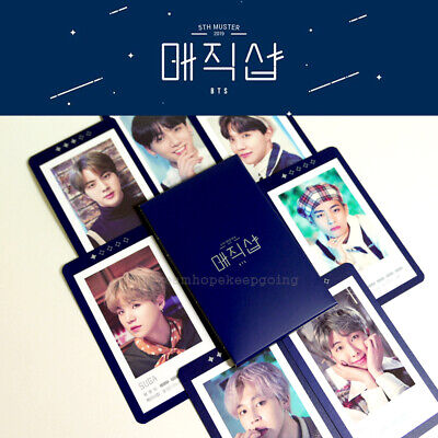 """Bts 5Th Muster """"Magic Shop"""" Official Md - Guestbook Card"""