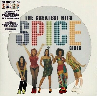 33T SPICE GIRLS Picture-Disc LP Greatest Hits 2019 EAN: 0602577518331