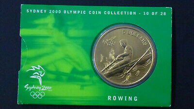 2000 Five Dollar Coin - *Rowing* - Sydney Olympic Collection*