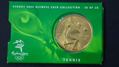 2000 $5 Tennis Sydney Olympic Games Coin 28 of 28