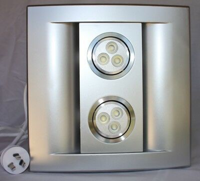 Ecorini - Exhaust Fan with 6W  LED Light - SILVER
