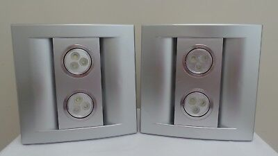 2  Ecorini - Exhaust Fan with 6W  LED Light - SILVER