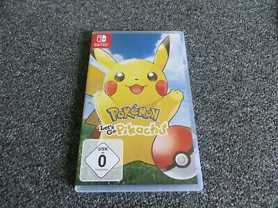Pokemon :  lets go Pikachu !   --  für Nintendo Switch  ----top