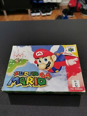 Super Mario 64 N64 AUS PAL Nintendo 64 Game Boxed