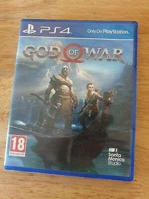 God of War Sony PlayStation 4 PS4