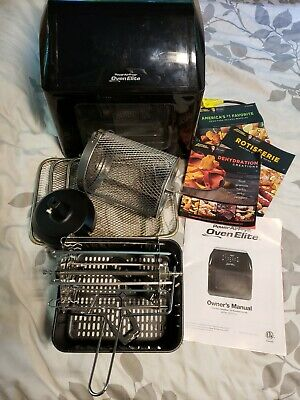 6 QT Power Air Fryer Oven Elite - 10 In 1 Cooking Features with Professional and