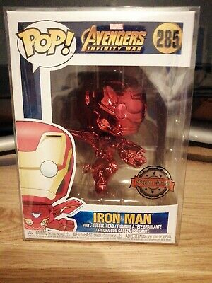 Marvel Funko POP Infinity War Iron Man #285 ON HAND READY TO SHIP USA SELLER