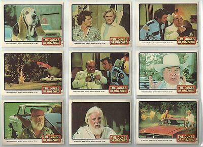 Dukes Of Hazzard - Series 2 - Complete 60 Trading Card Set - Donruss 1981 - NM