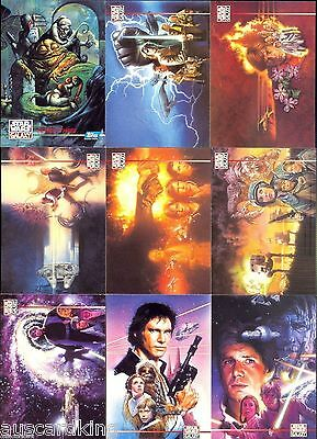 Star Wars - Galaxy Series 3 - Complete 90 Card & 12 Lucasarts Chase Set - NM