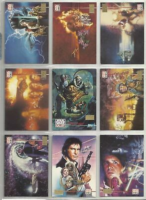 Star Wars Galaxy Series 3 1st Day Parallel - Complete Card Set (90) 12 Lucasarts