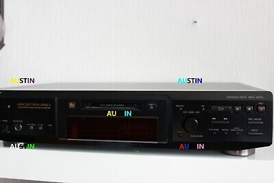 Sony Mds Je640 Minidisc Player Recorder.